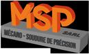MSP – Mécano – Soudure de Précision Logo